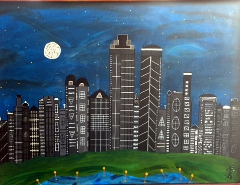 Day's End 30x40
