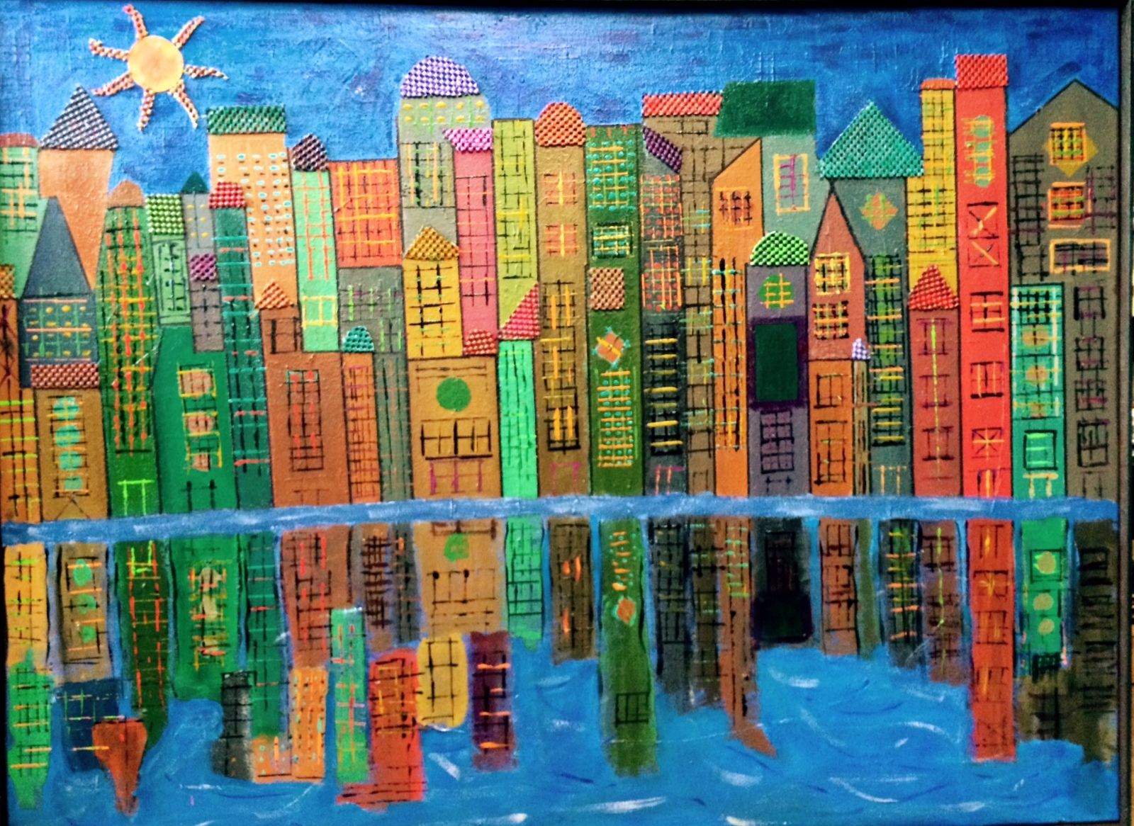 Summer In The City II 36x48