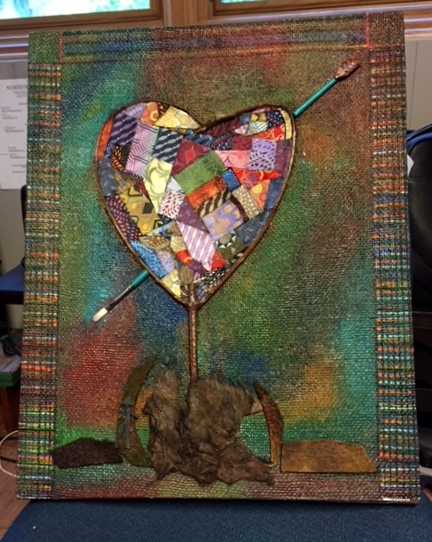Art With A Heart II 20x16