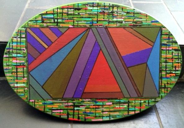 Mixup II (wood oval)