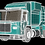 Thumbnail: Garbage Truck_3D Model Rigged C4D