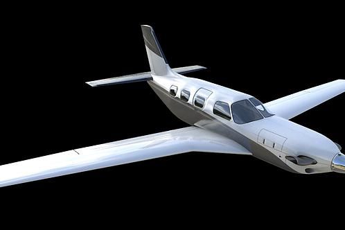 PA-46TC M600_3D Model_UNDER CONSTRUCTION