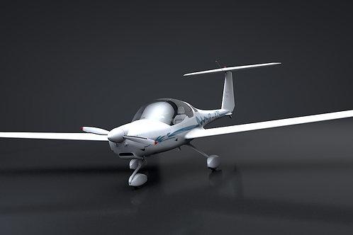 HK36TC_Diamond_3D Model_Rigged C4D