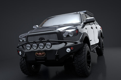 2012 Toyota Tundra_3D Model Rigged C4D