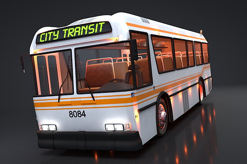 City Bus_V10_C4D Rigged