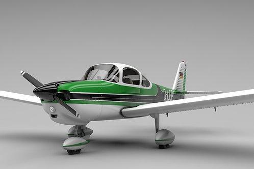 Fuji FA-200 Aero Subaru_V6_3D Model