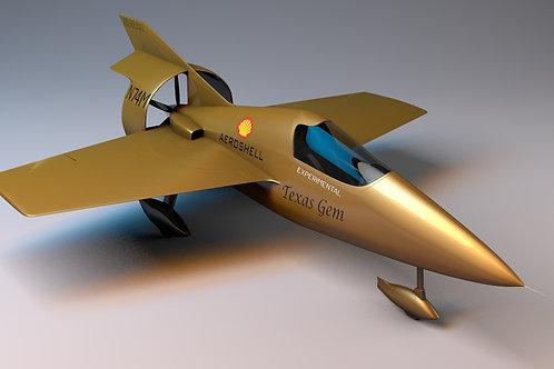 Miller JM-2 Formula Racer Aircraft_3D Model