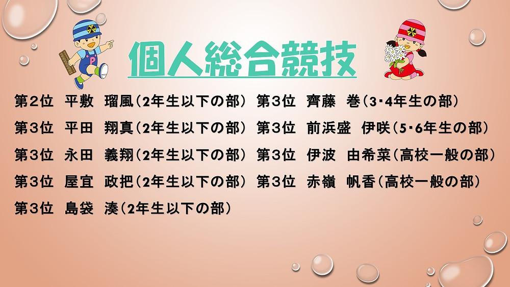 全沖縄珠算選手権 伊波そろばん教室