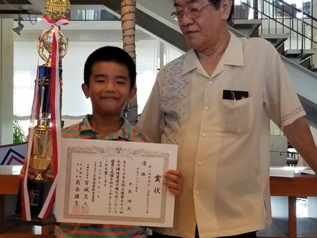 2018年 全沖縄珠算選手権大会へ参加。
