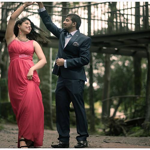 Pre-Wedding of Rahul and Indu