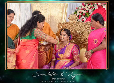 Baby Shower Ceremony of Samshitha and Rajeev