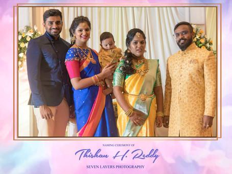 Thishan's Naming Ceremony