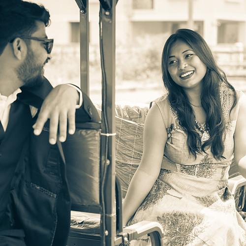 Pre-weddinging photo shoot: Ruby and Jugal