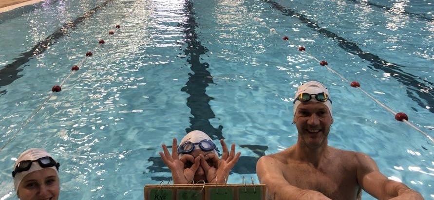 100 x 100 meter zwemmen