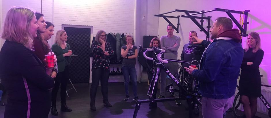 Foto's workshop fietsonderhoud