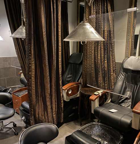 Edina Pedicure Area