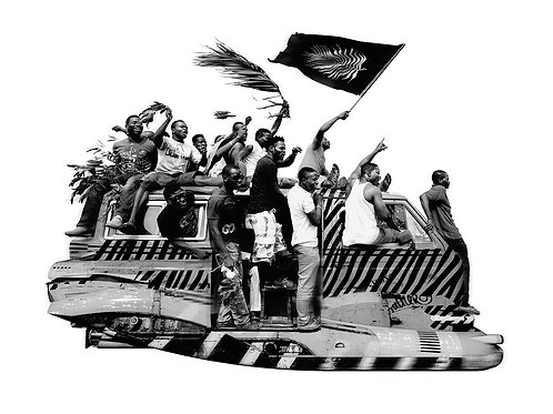 """""""Caravan"""" by Jeyifous Olalekan"""