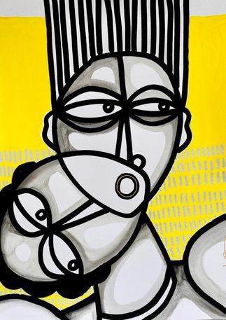 Peintre Obou