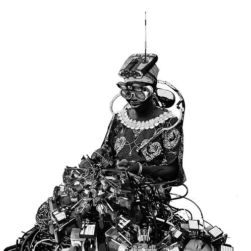 """Circuit weaver"" by Jeyifous Olalekan"
