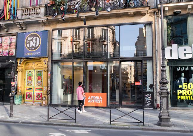 AFIRIKA ARTFEST au 59 RIVOLI PARIS