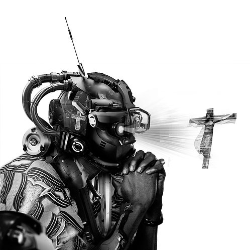 """Pray"" by Jeyifous Olalekan"