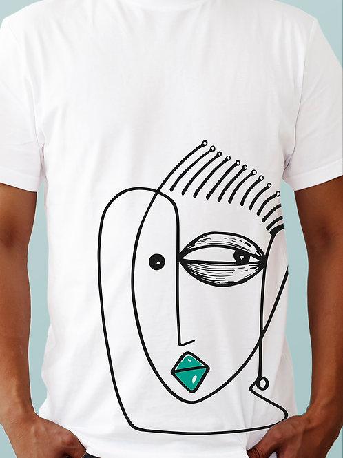 T-shirt AFIRIKA x OBOU - White Edition 2