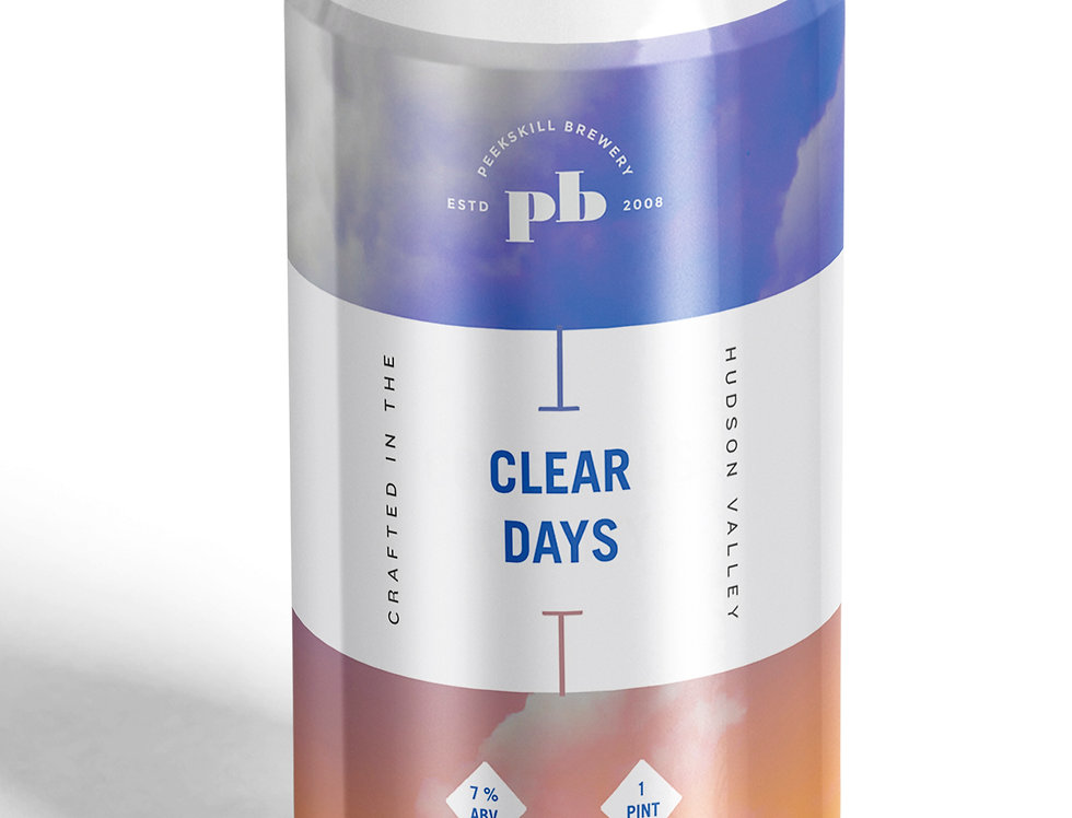 Clear Days IPA 4 Pack