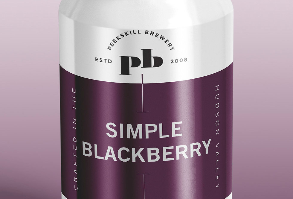 Simple Blackberry 6 pack