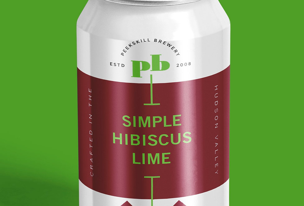 Simple Hibiscus Lime 6 Pack