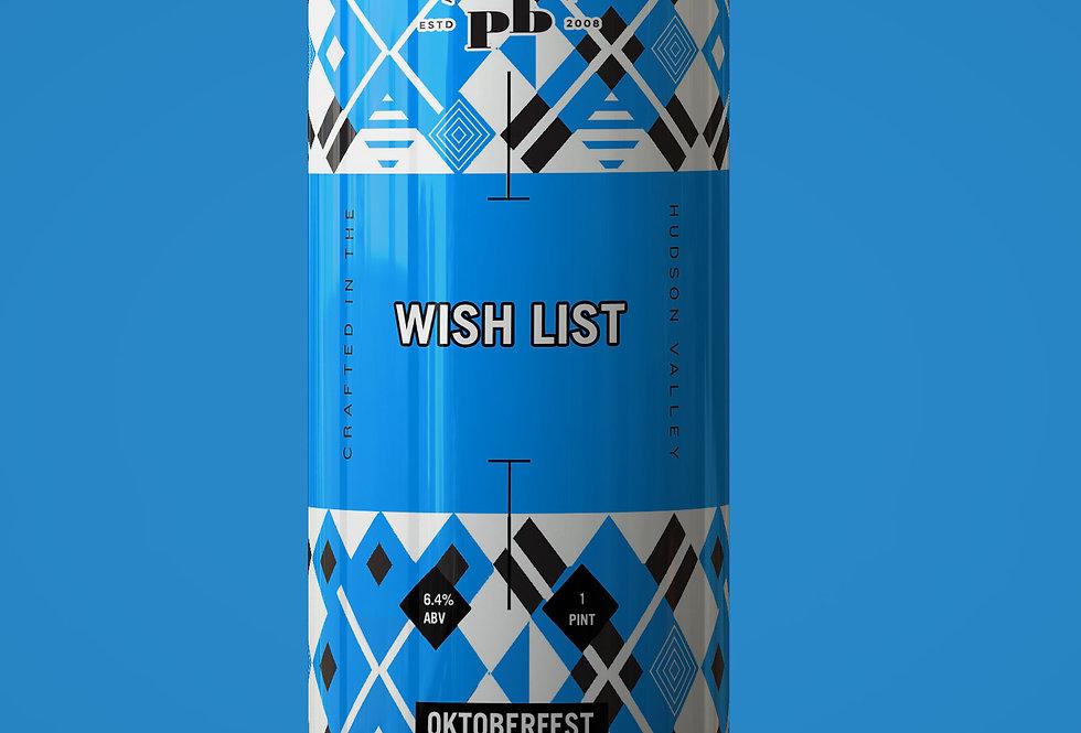 Wish List (Oktoberfest) Case