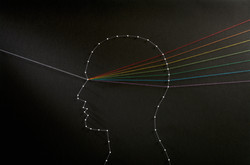 Rainbow mind concept