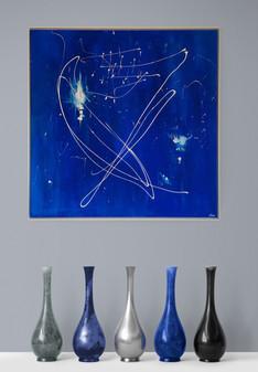 """""""Miami"""" Acryl auf Leinwand - 2020 - 80 x 80"""