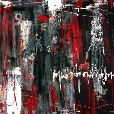 """Numbers"" Acryl auf Leinwand - 2018 - 80 x 80 (vergriffen)"