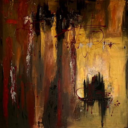 """Colorado"" acrylic on canvas - 2020 - 100 x 100"