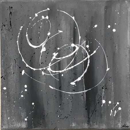 """Storm"" Acryl auf Leinwand - 2018 - 40 x 40 (vergriffen)"