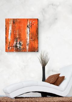 """Florida"" Acryl auf Leinwand - 2018 - 80 x 80"