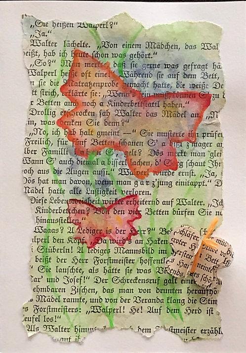 Doppelkarte inkl. Einlageblatt und Couvert (A6)