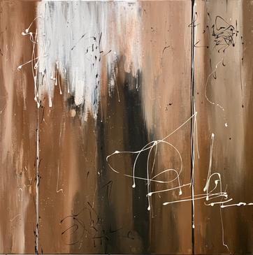 """""""Signature"""" - 2021 - 80 x 80cm (vergriffen)"""