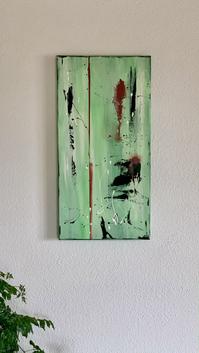 """""""Jungle"""" - 2021 - 30 x 60cm"""