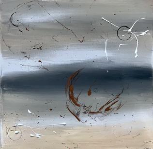 """""""Beach"""" - 2021 - 40 x 40cm (vergriffen)"""