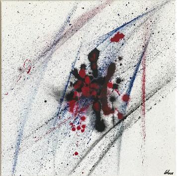 """Wild"" Acryl auf Leinwand - 2018 - 40 x 40 (vergriffen)"