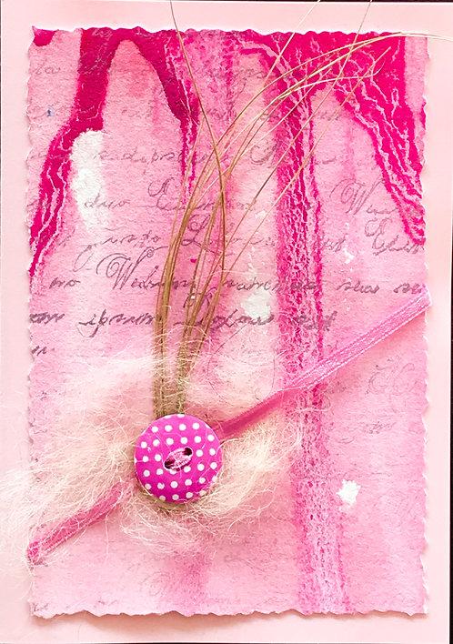 Doppelkarte inkl. Einlageblatt und Couvert