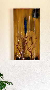 """""""Forest"""" - 2021 - 30 x 60cm"""