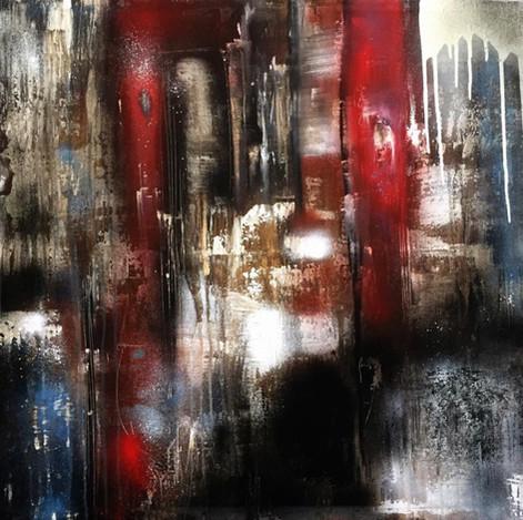 """MB"" Acryl auf Leinwand - 2015 - 80 x 80 (vergriffen)"