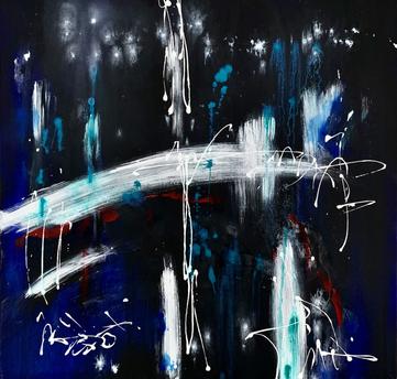 """Trip"" - 2021 - 80 x 80cm"