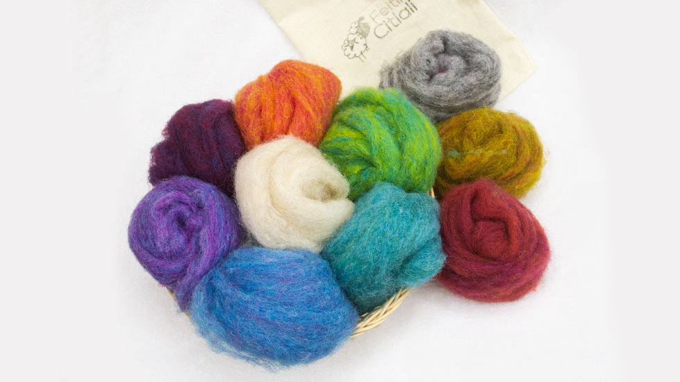 Kit de lanas matizadas corridale