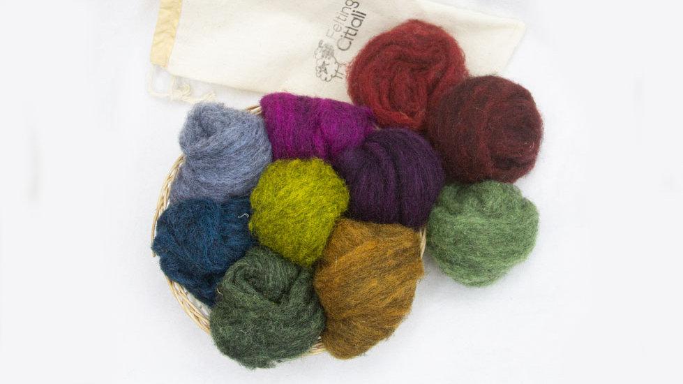 kit de lanas metalizado corridale