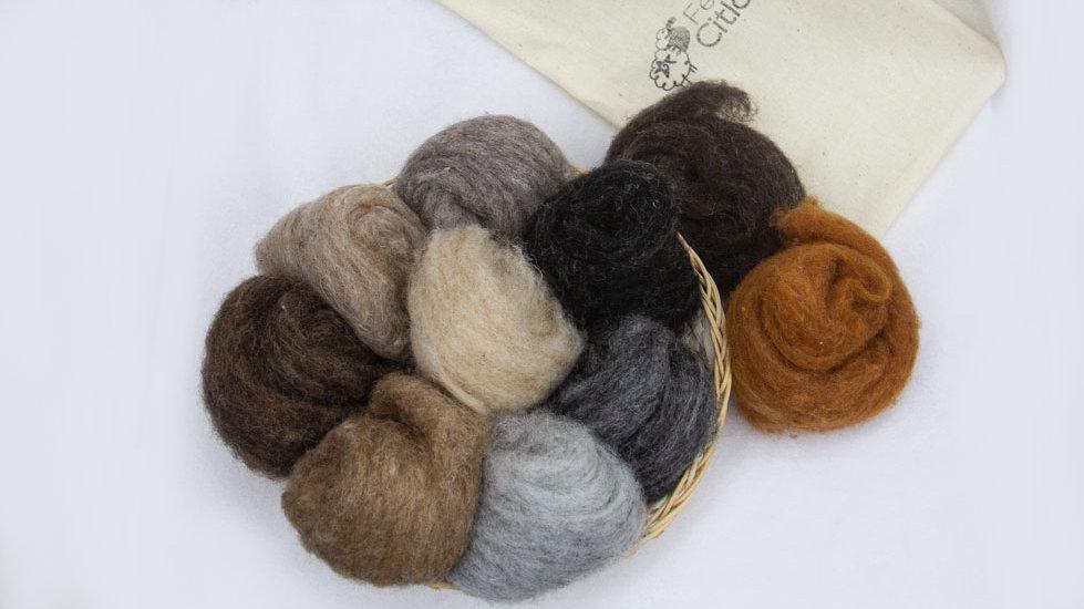 Kit de lanas animalitos corridale