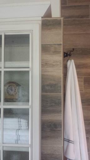 Master Bath Custom Cabinet and Tile