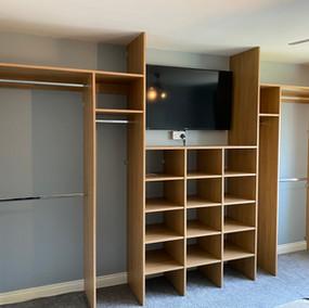 Bespoke made interior wardrobe